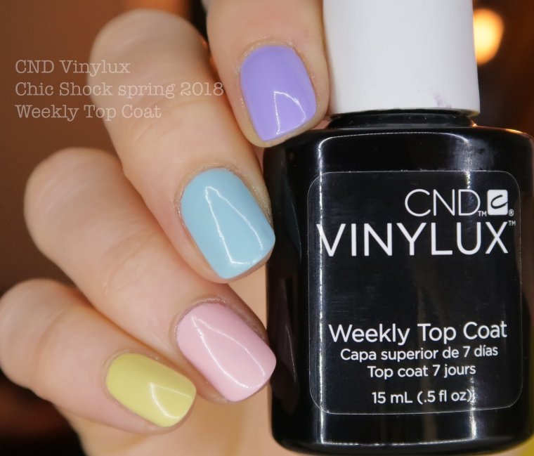 cnd chic shock weekly top coat